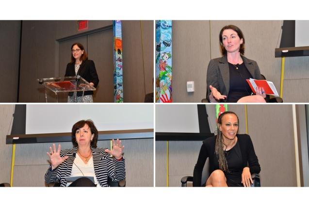Panelists: Jill Savitt, Sarah Pierce, elisa Massimino, Malika Saada-Saar