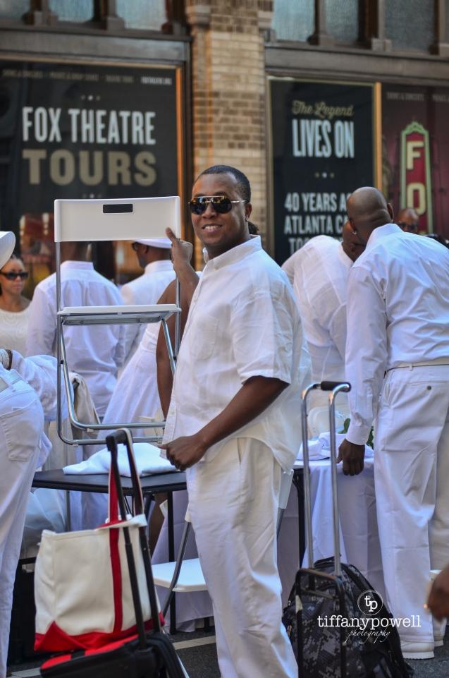 Otis Threatt Diner En Blanc Atlanta