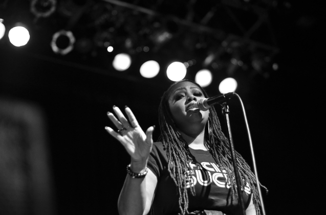 Lalah Hathaway Performs Live in Atlanta, GA