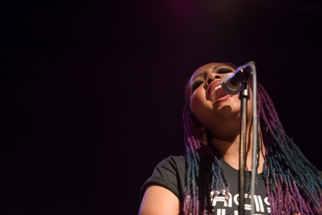 Lalah Hathaway Performs Live in Atlanta, GA