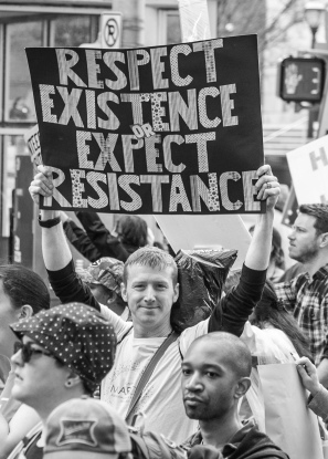 Respect Existence- Atlanta Women's March -Tiffany Powell Photography