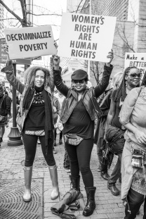 Atlanta Women's March - Tiffany Powell Photography