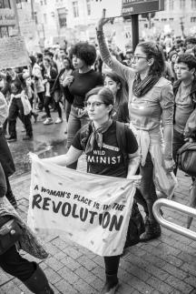 Revolution - Atlanta Women's March - Tiffany Powell Photography