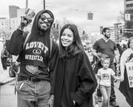 Andre Benjamin - Atlanta Women's March - Tiffany Powell Photography
